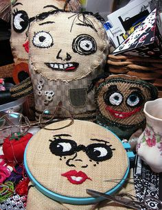 Sewing more faces | Flickr - Photo Sharing!