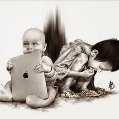 This image displays a risk factor that has an effect on a child's development in moral reasoning. A child who grows up in poverty or with out parents that teach them about moral obligations  will grow up without the understanding of morality. Such children will not have a sense of what is viewed as right and wrong in relation to society expectations.