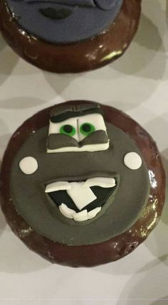 Cars cupcake topper
