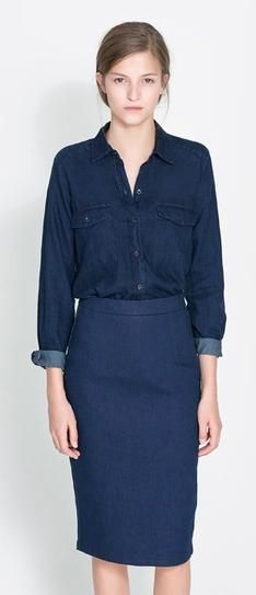 Denim Shirts for Fall 2013 | StyleCaster