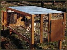 Custom-build a kennel floor just right for your dog Dog Kennel Flooring, Dog House Plans, Outdoor Tables, Outdoor Decor, Creature Comforts, Your Dog, Building, Dogs, Dog Kennels