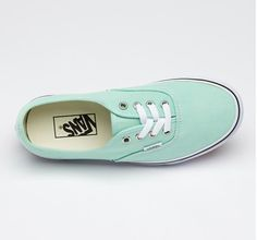 Vans and the color blue. Love it!