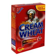 Mom used to sing the Cream of Wheat song when she made it :)  Cream of Wheat is good to eat we eat it every day.....