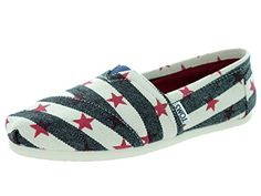 Toms Womens Classic Star NavyNatural Star Casual Shoe 6 Women US >>> Check out this great product by click affiliate link Amazon.com