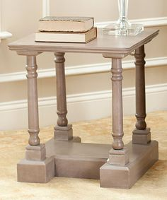 Love this Vintage Gray Gamora End Table on #zulily! #zulilyfinds