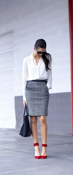 4 Easy Office Outfit Combinations For Lazy Days.