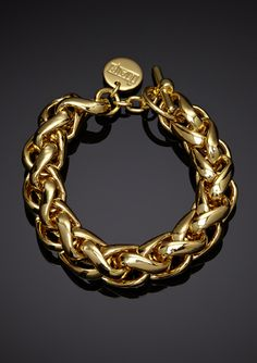 1AR by UnoAerre Braided Link Toggle Bracelet