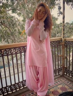 Beautiful Baby Pink Color Rayon Patiyala Suit - Patiala Suits - Suits and Dress material - Womenswear Patiala Dress, Patiala Salwar Suits, Punjabi Dress, Churidar, Chanderi Suits, Patiala Suit Designs, Kurti Designs Party Wear, Dress Indian Style, Indian Outfits