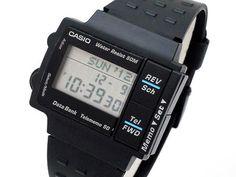 Casio DB-57W Module 1225 Released 1990 Retro Watches, Vintage Watches, Cool Watches, Watches For Men, Men's Watches, Casio Vintage Watch, Casio Watch, Nerd Chic, The Last Laugh