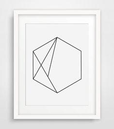 minimalist wall art diy - Google Search