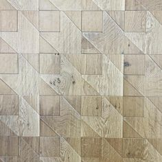 """Jamie Beckwith Collection & BI on Instagram: """"Stitch wall tiles feel so right. The pattern inspired by hoods tooth textiles reminds me of a wooden quilt. The texture of the white oak along with the pickled pearl finish is gorgeous. #jamiebeckwithcollection #quilt #etched #woodtile #tile #engraved #pearl #whiteoak #nashville #usamade #tennessee #tileaddiction #luxury #bespoke #custom #unique #design #designer #commercial"""""""