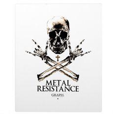 Metal Resistance Photo Plaques