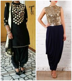 5 mirror work salwar suit