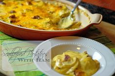 ~The Kitchen Wife~: Scalloped Potatoes w/ Ham