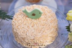 Cake at a Baby Shower Sip and See #babyshower #sipseecake