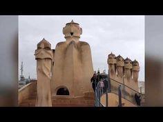 Zam's Zany Travels!: La Predrera....Casa Mila...a Gaudí Treasure