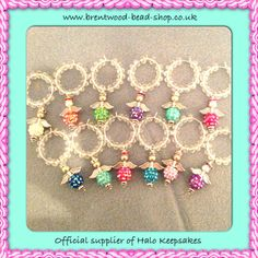 Items similar to Halo Keepsake Wine Glass Charms on Etsy Beaded Angels, Jewelry Ideas, Unique Jewelry, Wine Tags, Dog Collars & Leashes, Wine Glass Charms, Collar And Leash, Zipper Pulls, Key Chains