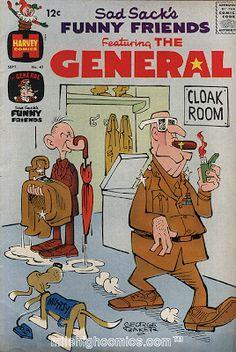 Sad Sack Cartoon | ... Sack', 'Hi-Fi Tweeter', 'General Rockjaw' and 'Muttsy', the talking