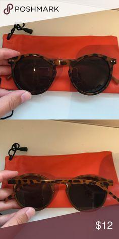 c62e48115f5 Tortoise Shell Sunglasses Brown and Black Tortoise Shell Sunglasses - Great  Condition! Accessories Sunglasses