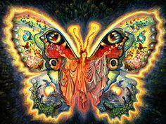 """""""Butterfly Goddess 1"""" par Josephine Wall"""