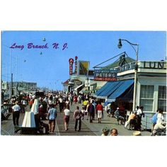 "Long Branch, NJ boardwalk, the one that I remember as a child when you could go to the arcades and play skee ball. It is great  to go back and experience a ""new"" Long Branch but so sanitized compared to what it was!"