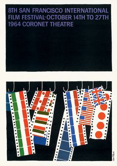 Saul Bass - Coronet Theatre, San Francisco, 1964
