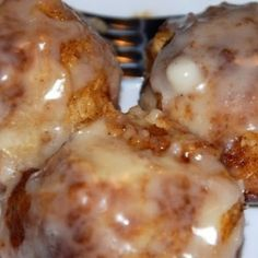 Crock Pot Cinnamon Rolls ~ using refrigerated canned biscuits