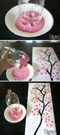 .easy work of art idea
