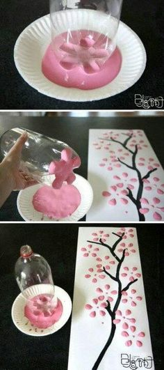 .easy work of art idea