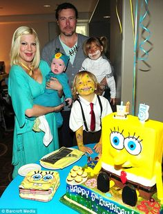 Tori Spelling has announced she is pregnant with her fourth child.    Read more: http://www.bellenews.com/2012/03/23/entertainment/tori-spelling-pregnant-with-the-fourth-child-five-months-after-giving-birth/#ixzz1pzAHWjUR