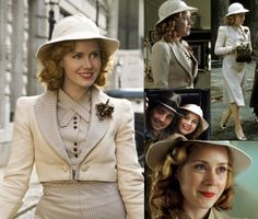 Miss Pettigrew Lives for a Day -- I wish wearing hats would come back into fashion! So cute :)
