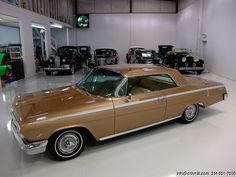 1962 CHEVROLET IMPALA SS GOLDEN ANNIVERSARY SPORT COUPE 1 OF LESS THAN 350 ESTIMATED TO HAVE EVER BEEN PRODUCED! INCREDIBLE LARGELY UNRESTORED SURVIVOR! FINISHED IN MOST OF ITS ORIGINAL ANNIVERSARY GOLD WITH ORIGINAL GOLD INTERIOR!...