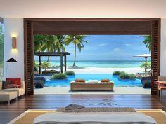 The Ritz-Carlton, Cap Cana, Dominican Republic Porches, Sanctuary Cap Cana, Playa Beach, Dream Beach Houses, Punta Cana, Dominican Republic, Coastal Living, My Dream Home, Outdoor Spaces