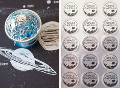 Astronaut Birthday Party, time capsule, astronaut, planets, moon