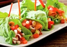 Lettuce Wraps and Spring Rolls on Pinterest | Spring rolls, Lettuce ...
