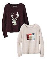Women's Woolrich Motif Sweater | Sahalie