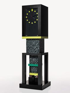 Metropole clock by George J. Sowden, designed in 1982.