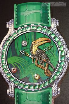 Chopard's Extraordinary Bestiary Watch Collection Design