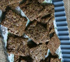 Teff Crackers that are Gluten-Free and Vegan Teff Recipes, Baking Recipes, Snack Recipes, Snacks, Flour Recipes, Grain Foods, Foods With Gluten, Vegan Gluten Free, Gluten Free Recipes