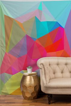 Three Of The Possessed Crystal Crush Tapestry | DENY Designs Home Accessories