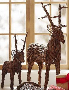 Holiday Decoration #reindeer #inspiration #christmas   www.586eventgroup.com
