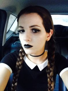Horror series #1: wednesday addams inspired creepy video / on my youtube channel