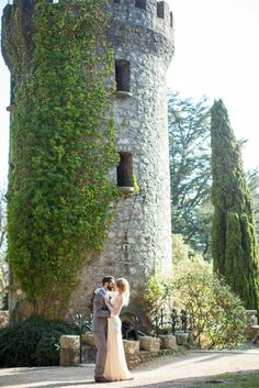 Powerscourt Estate in Ireland.