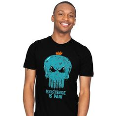 Existence is Pain T-Shirt - Mr. Meeseeks T-Shirt is $13 today at Ript!