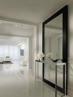 Full Length Mirror: 13 Amusing Foyer Mirrors Photograph Ideas