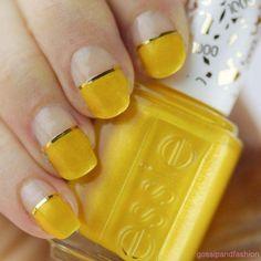 Gelbe Nagelkunst und Maniküre - 30 schöne Ideen | Nagelkunst - Nägel - diy #gelbe #ideen #manikure #nagel #nagelkunst #schone