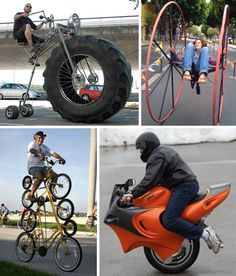 The green revolution would be a lot easier if everyone rode a bike. One way to get more people to start traveling via pedal power is to add a little creativity to an otherwise mundane form of transport.