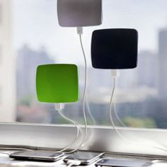 Cling Bling – the solar charger.