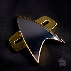 When You're 75,000 Light Years From Home Star Trek: Voyager fans: Now your cosplay can be perfect! Just add this gleaming, screen-accurate metal badge with its unique magnetic clasp to your uniform, a