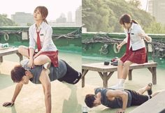 Let's Fight Ghost   Kim So Hyun and Taecyeon
